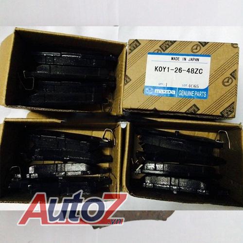 Má phanh sau Mazda CX5, K0Y1-26-48ZC